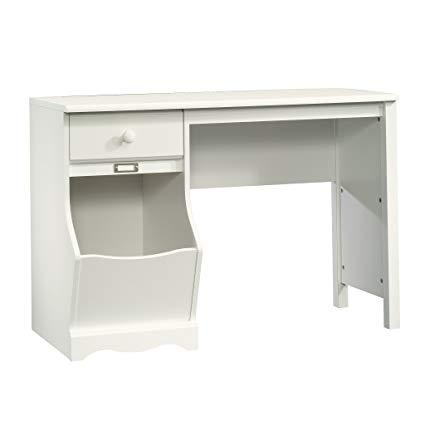Sauder Pogo Desk for Children, Soft White Finish