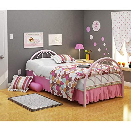 Brooklyn Twin Bed, Pink