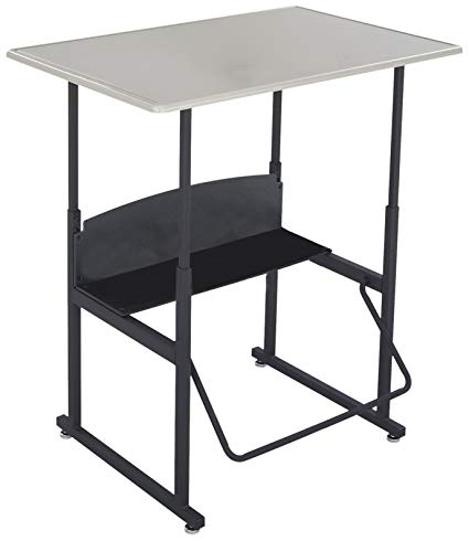 Safco AlphaBetter Desk, 36 by 24 Standard Top without Book Box