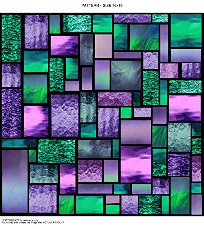 Windowpix WF109-36x96 36x96 Decorative Static Cling Window Film