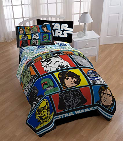 Star Wars Classic Twin Comforter and Sheet Set