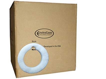 1 Case (50 pkgs) Filter Queen 4404012600 Exhaust Foam Filter Batting Ring Canister Vacuums
