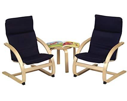 Guidecraft Kiddie Rocker Chair Set - Blue