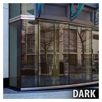 BDF PRBR Window Film Premium Color High Heat Control and Daytime Privacy Bronze (48in X 24ft)