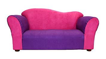 KEET Wave Kid's Sofa, Pink/Purple