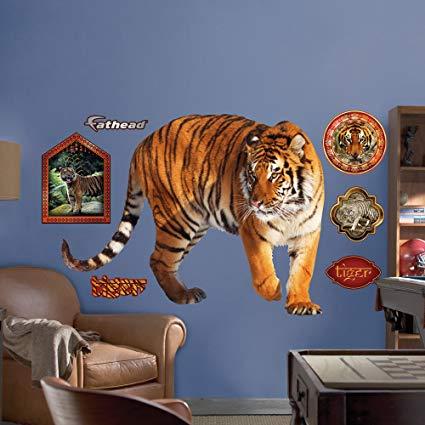 FATHEAD Tiger Graphic Wall Décor